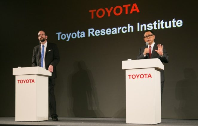 veículos autónomos, condução autónoma Toyota