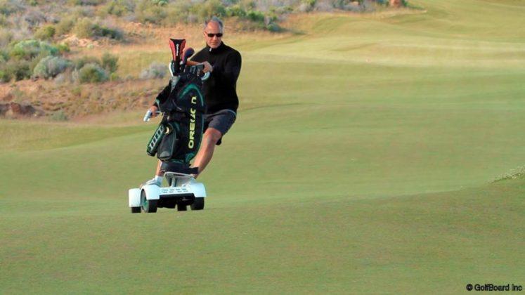 veículo elétrico Golfboard